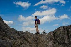 Hiker женщин Стоковая Фотография RF