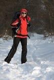 hiker пущи Стоковые Изображения