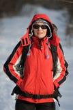 hiker пущи Стоковая Фотография RF