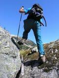 hiker сильный Стоковое фото RF