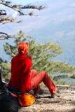 hiker девушки Стоковое Фото