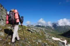 Hiker Stock Image
