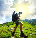Hiker Stock Images