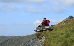 hiker стоковое изображение