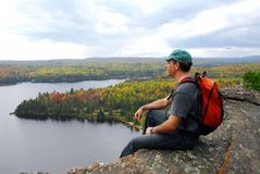 Hiker Royalty Free Stock Photography