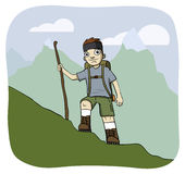 Hiker Stock Image