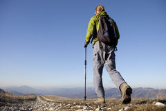 Hiker. Royalty Free Stock Image