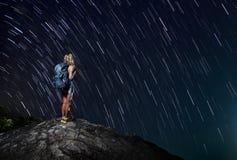 hiker Imagen de archivo libre de regalías