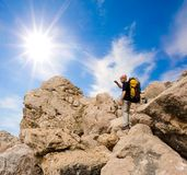 Hiker Royalty Free Stock Photo