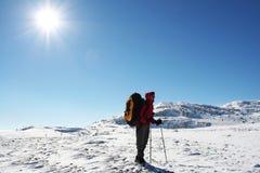 hiker fotografia stock libera da diritti