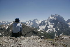 hiker Стоковое фото RF