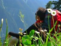 hiker Immagine Stock Libera da Diritti