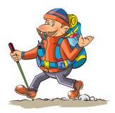 hiker libre illustration
