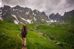 hiker immagini stock