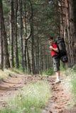 детеныши hiker Стоковое Фото
