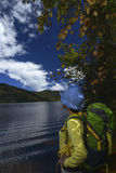 Chinese hiker Stock Photos
