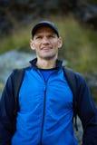 Hiker closeup Stock Photos