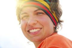 Hiker girl Royalty Free Stock Photos