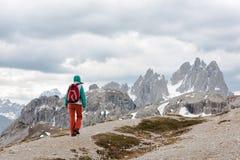 Hiker girl Royalty Free Stock Photo
