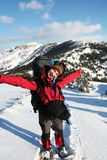 Hiker girl Royalty Free Stock Photography
