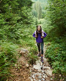 Hiker girl Royalty Free Stock Photos