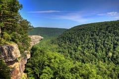 hiker hawksbill скалы Стоковая Фотография RF