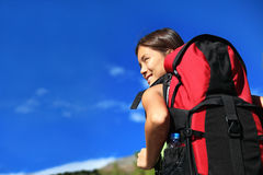 Hiker looking Royalty Free Stock Photography