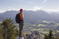 Hiker´s view Stock Photography
