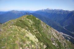 Hiker. Royalty Free Stock Photos