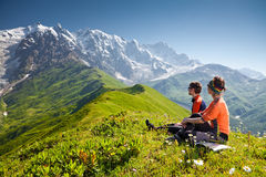 Free Hiker Take A Rest Stock Photos - 28764033