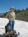 Hiker With Gear Stock Photos