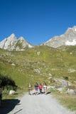Hikers убежища Elisabetta Soldini Стоковая Фотография RF