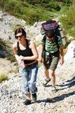 hikers Стоковое Изображение RF