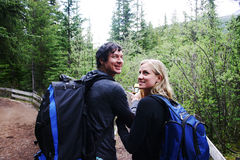 hikers 2 стоковое фото rf