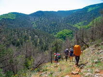 Hikers Royalty Free Stock Photo