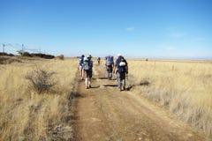 Hikers стоковое фото rf