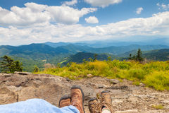 hikers Immagini Stock Libere da Diritti