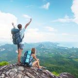hikers Fotografie Stock Libere da Diritti