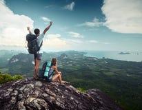 hikers Foto de Stock Royalty Free