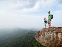 hikers Imagen de archivo libre de regalías