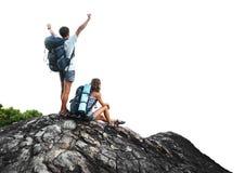 hikers Стоковое Изображение