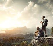 hikers Стоковое Фото