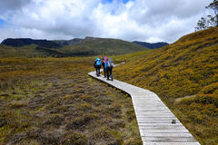 hikers Foto de Stock Royalty Free