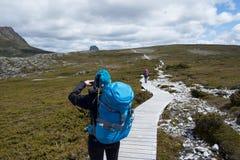 hikers Fotografia de Stock