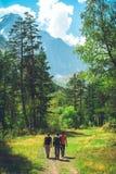 hikers fotos de stock