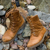 Hikers boots Royalty Free Stock Photography