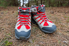 Hikers boots Stock Photography