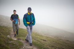 Hikers friends Royalty Free Stock Photos