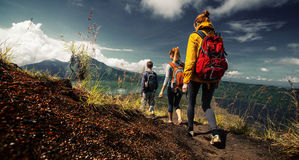Hikers Royalty Free Stock Photography