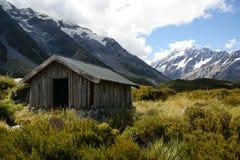 Hikers hut Mount Cook Royalty Free Stock Photos